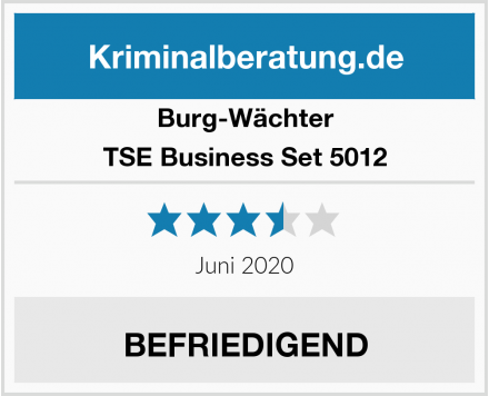 Burg-Wächter TSE Business Set 5012 Test