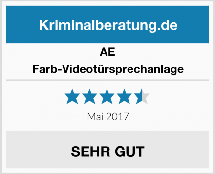 AE Farb-Videotürsprechanlage Test