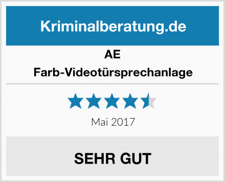 AE Farb-Videotürsprechanlage Test