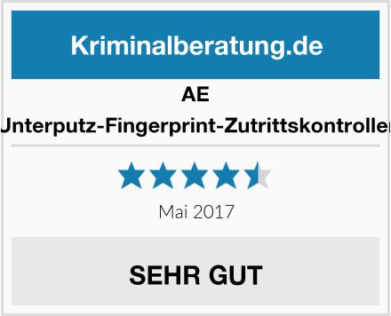AE Unterputz-Fingerprint-Zutrittskontroller Test