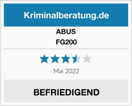 ABUS FG200 Test