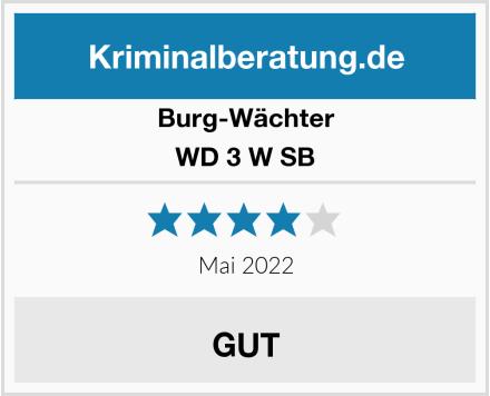 Burg-Wächter WD 3 W SB Test