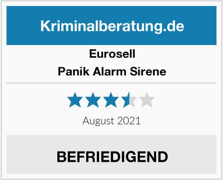 Eurosell Panik Alarm Sirene Test