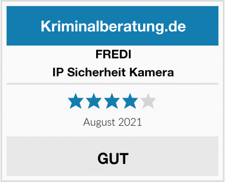 FREDI IP Sicherheit Kamera Test