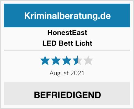 HonestEast LED Bett Licht Test