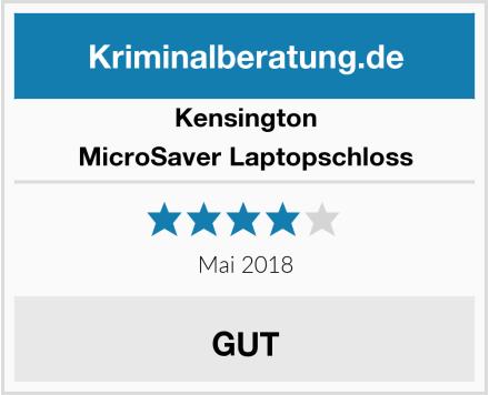 Kensington MicroSaver Laptopschloss Test