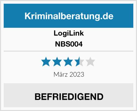LogiLink NBS004 Test