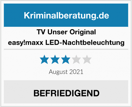 TV Unser Original easy!maxx LED-Nachtbeleuchtung Test