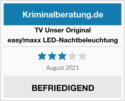 TV Unser Original  easy!maxx LED-Nachtbeleuchtung Test