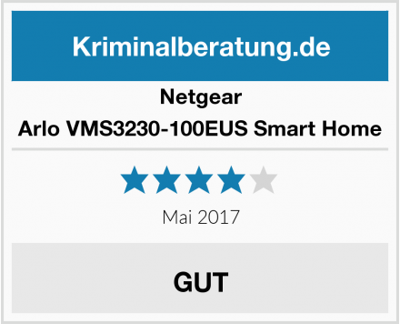 Netgear Arlo VMS3230-100EUS Smart Home Test