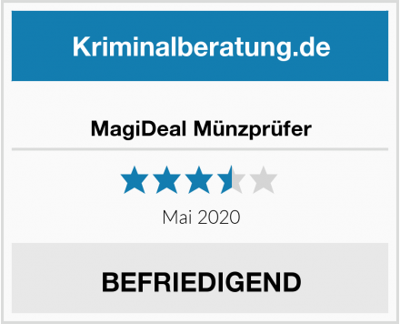 MagiDeal Münzprüfer Test
