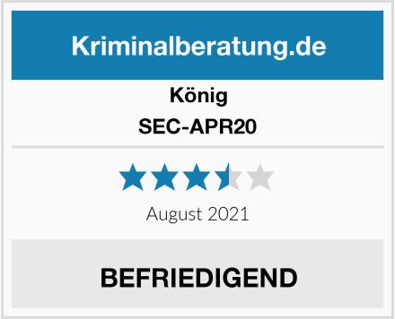 König SEC-APR20 Test