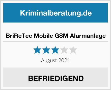 BriReTec Mobile GSM Alarmanlage Test