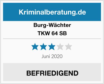 Burg-Wächter TKW 64 SB Test