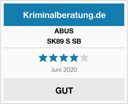 ABUS SK89 S SB Test