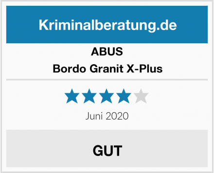 ABUS Bordo Granit X-Plus Test
