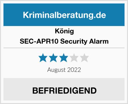 König SEC-APR10 Security Alarm Test
