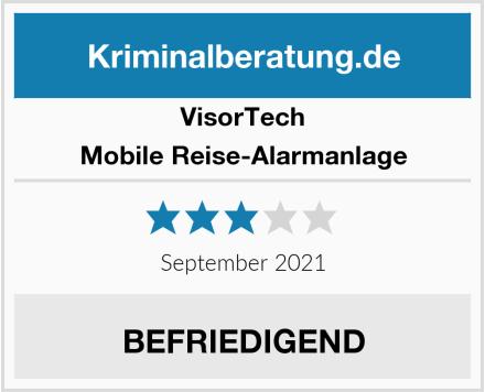 VisorTech Mobile Reise-Alarmanlage Test