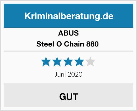 ABUS Steel O Chain 880  Test