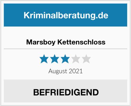 No Name Marsboy Kettenschloss Test
