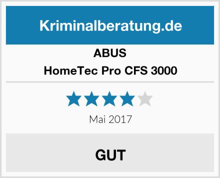 ABUS HomeTec Pro CFS 3000 Test