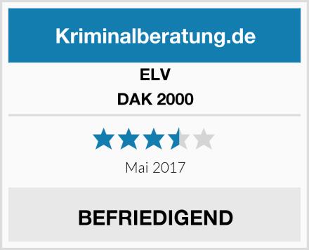ELV DAK 2000 Test