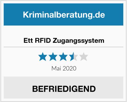Ett RFID Zugangssystem Test