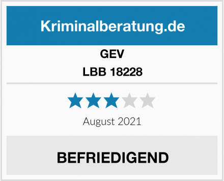 GEV LBB 18228 Test