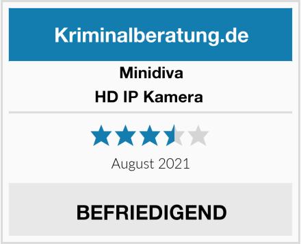 Minidiva HD IP Kamera  Test