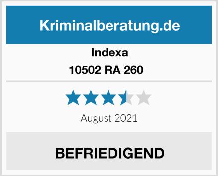 Indexa 10502 RA 260   Test