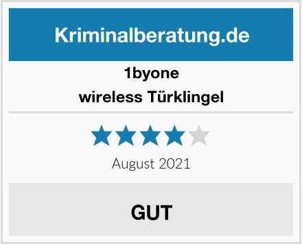 1byone wireless Türklingel Test