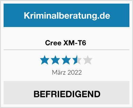 Cree XM-T6  Test