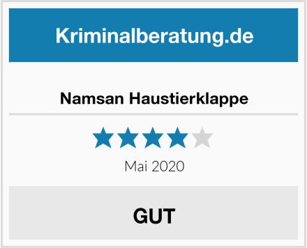 No Name Namsan Haustierklappe Test