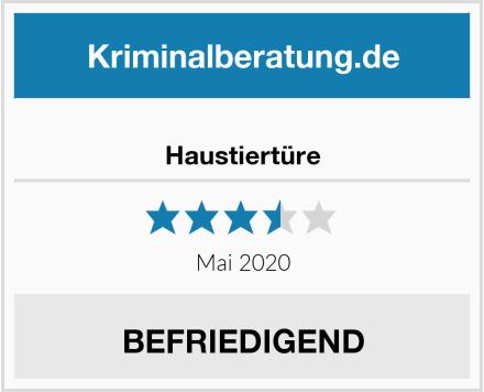 No Name Haustiertüre Test