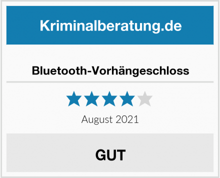 Bluetooth-Vorhängeschloss Test