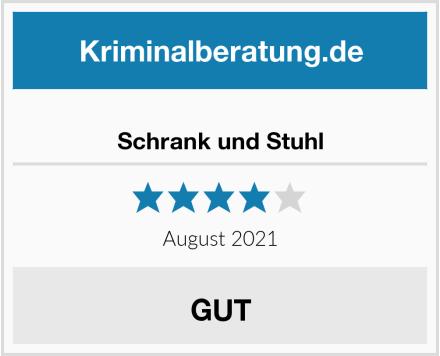 No Name Schrank und Stuhl Test