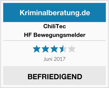 ChiliTec HF Bewegungsmelder Test