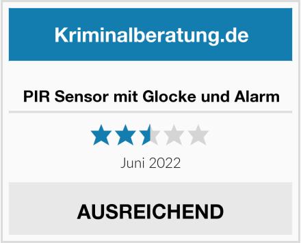 No Name PIR Sensor mit Glocke und Alarm Test