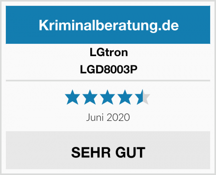 LGtron LGD8003P Test