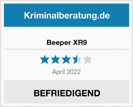 Beeper XR9 Test