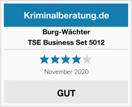 Burg-Wächter TSE Business Set 5012 Test