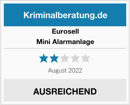 Eurosell Mini Alarmanlage Test