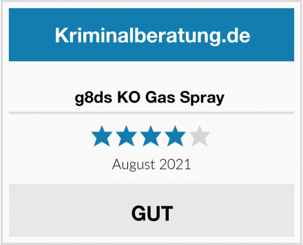 No Name g8ds KO Gas Spray  Test