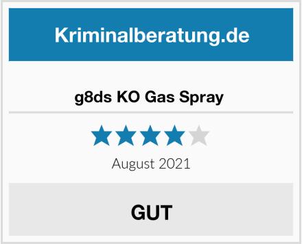 No Name g8ds KO Gas Spray  Test