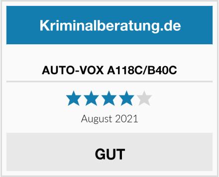 No Name AUTO-VOX A118C/B40C Test