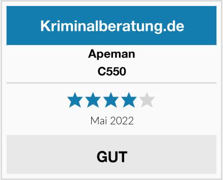 Apeman C550 Test