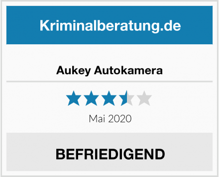 Aukey Autokamera Test