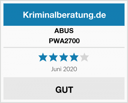 ABUS PWA2700 Test