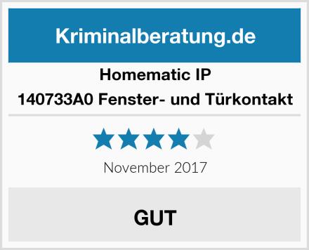 Homematic IP 140733A0 Fenster- und Türkontakt Test