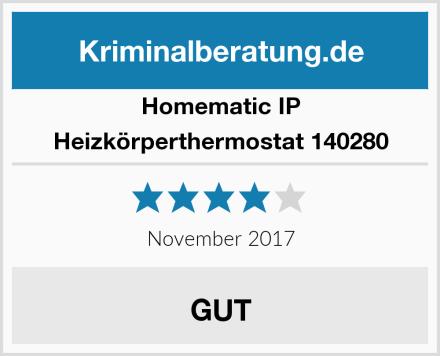 Homematic IP Heizkörperthermostat 140280 Test